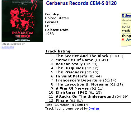 Cerberus Records CEM-S 0120