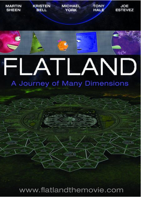 "2007美国发行的 Flatland: The Movie (34'00"")由 Dano Johnson 和 Jeffrey Travis 导演"