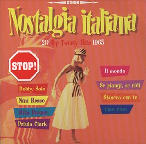 Nostalgia italiana - 20 top twenty hits 1965